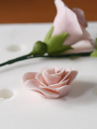 Easy Fondant Rose Step by Step Tutorial
