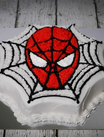 Make A Spider-man Birthday Cake In Easy Way