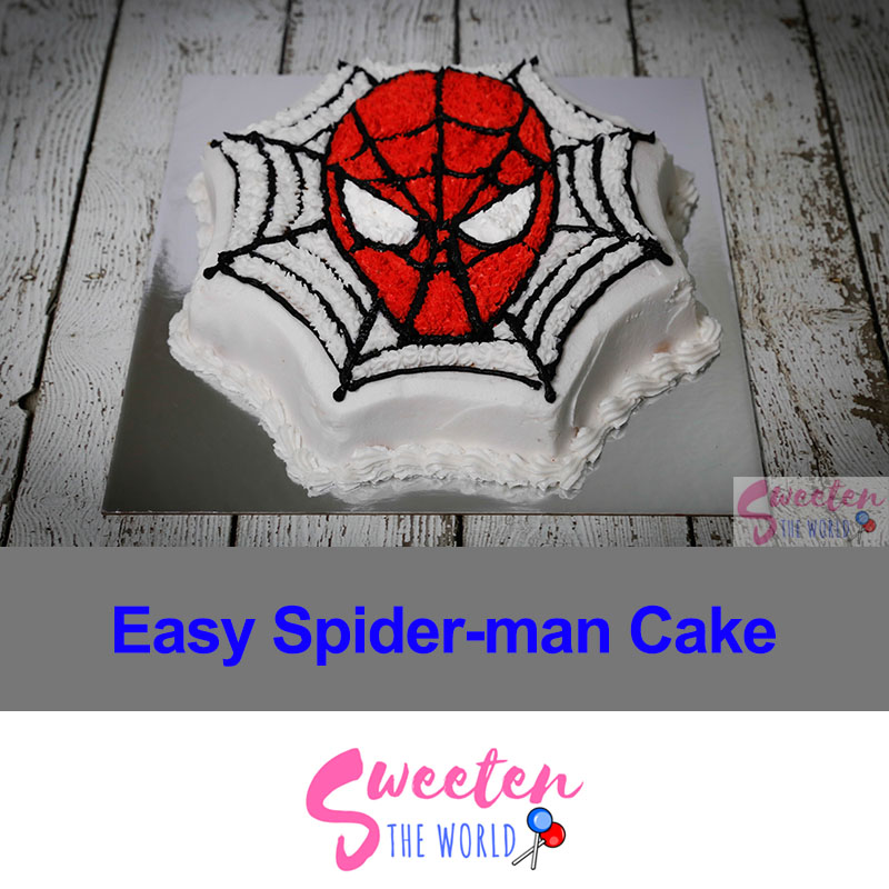 how-to-make-a-spiderman-cake