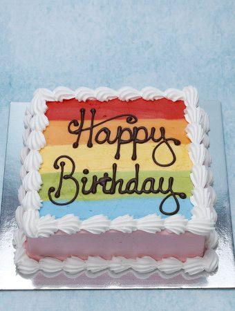 How To Make An Eye-Catching Rainbow Cake
