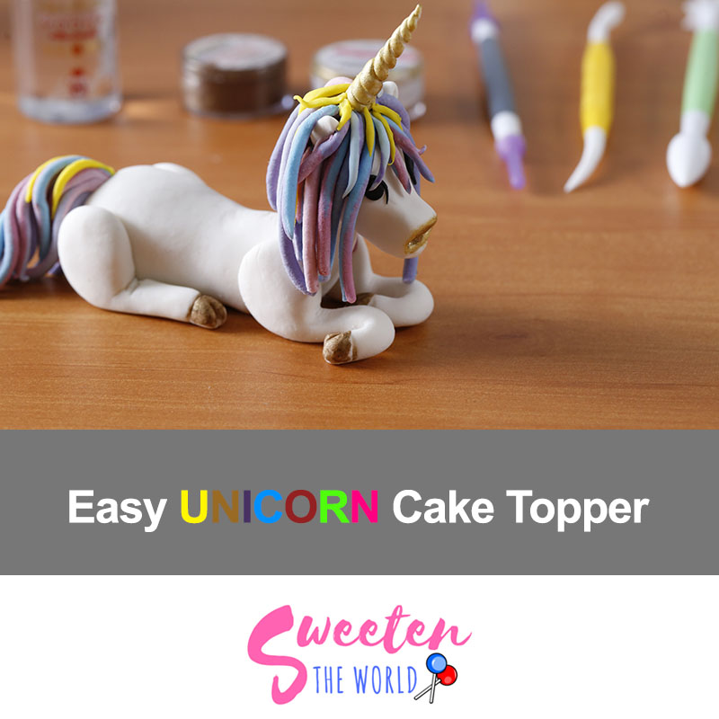 how-to-make-unicorn-cake-topper
