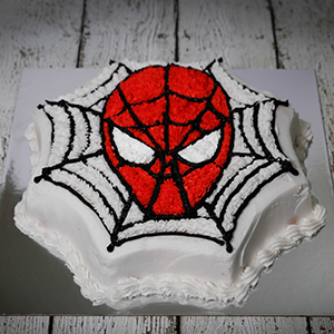 Magnificent Make A Spider Man Birthday Cake In Easy Way Sweetentheworld Personalised Birthday Cards Beptaeletsinfo