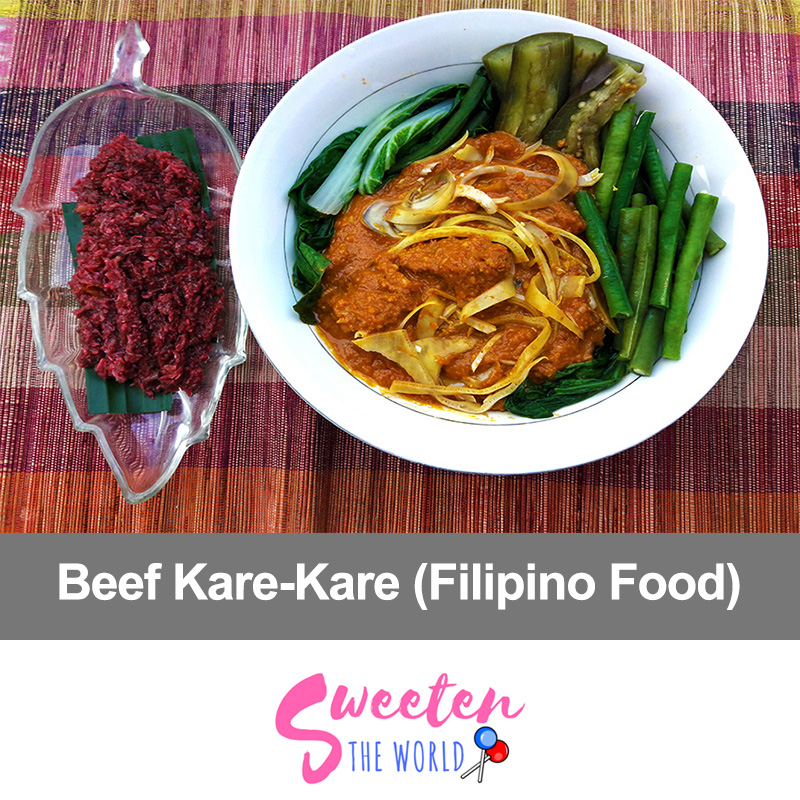 how to cook kare kare beef