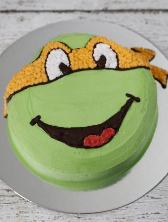 Fastest Ninja Turtle Cake You Will Have