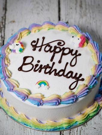Easy Way To Make An Unicorn Birthday Cake At Home