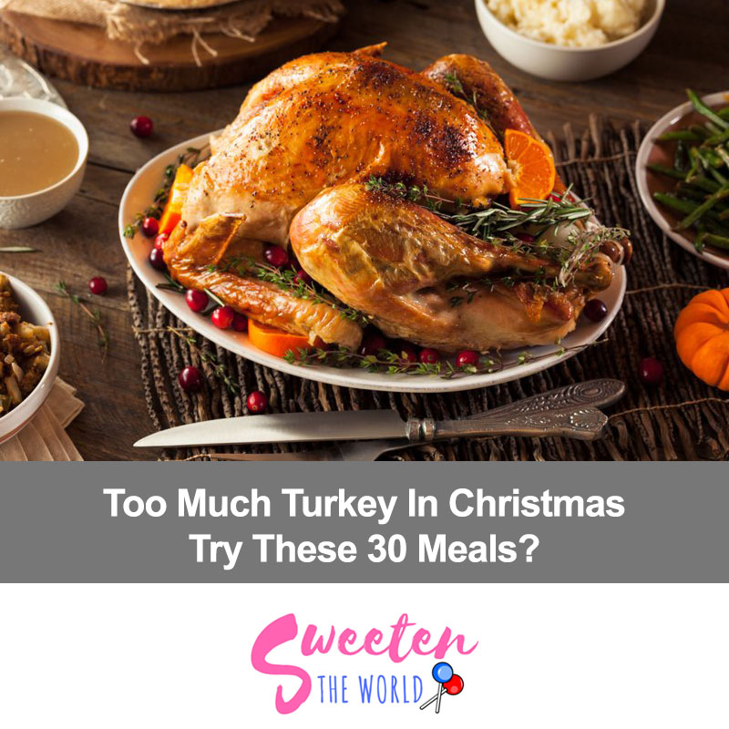 Too Much Turkey this Christmas? Try These Best 30 Meals