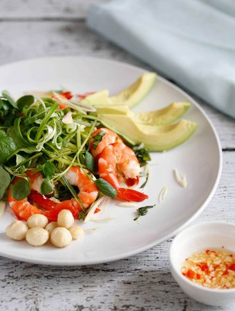 Spiced Prawn And Avocado Salad