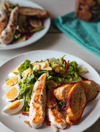 Seared Chicken Caesar Salad Recipe