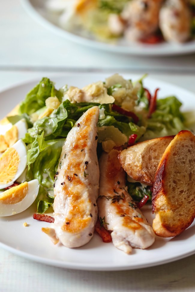 seared-chicken-caesar-salad