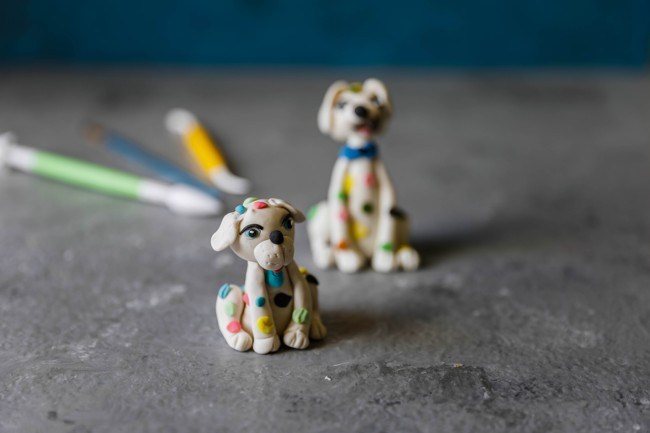 How to make fondant dog