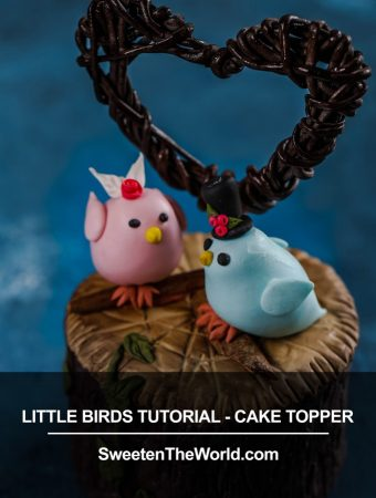 Cute Fondant Birds Tutorial – Cake Topper