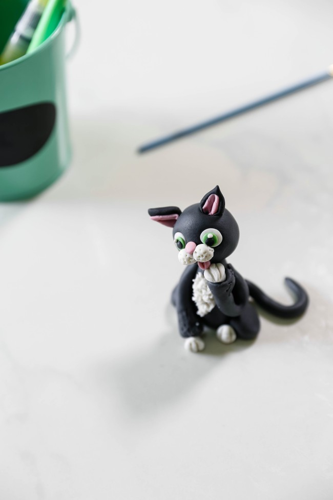 Tutorial How To Make Edible Cat Cake Topper