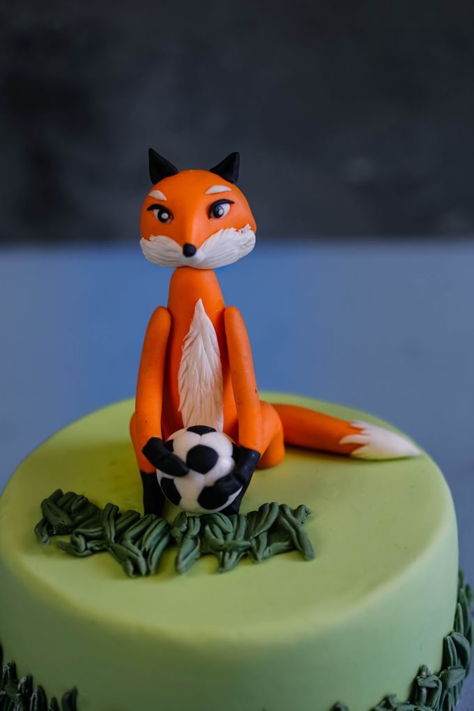 Little Cute Edible Playful Fox