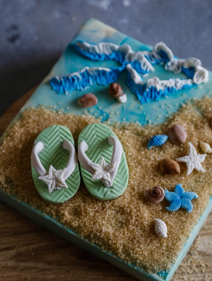 Flip-flops Tutorial With Gumpaste